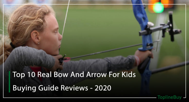 real bow and arrow for kids