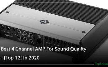 Best 4 Channel AMP For Sound Quality - {Top 12} In 2020