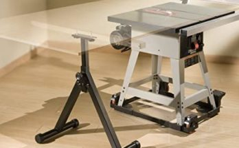 Table Saw Roller Stands