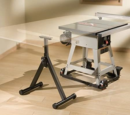 Wide Roller Rolling Material Support Height Adjustable Foldable Work Station NEW